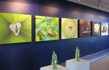 Ausstellung Phantasiewelten Uschi Müller 2008