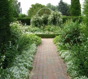 Weißer Garten gartenlinks farbe im garten farbgärten färbepflanzen farbstoffe
