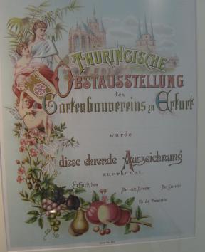 Ausstellung egapark Erfurt Gartenbaumuseum