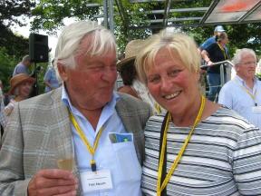 Ehepaar Stauch auf dem Rosenkongress 2012 Foto Brandt