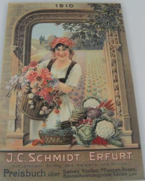 Preisbuch der Firma J.C. Schmidt Erfurt