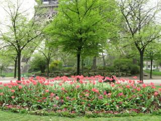 Pariser Gartenreise