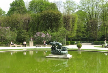 Rodin-Garten in Paris