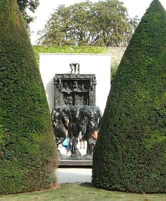 Paris Skulpturengarten Rodin Foto Brandt